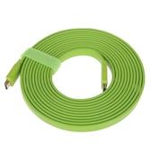 山澤 HDMI線彩色扁平高清線3D數字電腦電視頻線1.5 2 3米五色可選 挪威森林