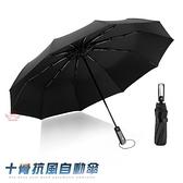 【南紡購物中心】全新抗UV超大加固版自動開關晴雨傘 遮陽及颱風專用 雙面加固