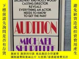 二手書博民逛書店AUDITION罕見Everything an Actor Ne