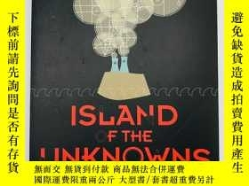 二手書博民逛書店Island罕見of the Unknowns: A Myste