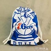 球包-湖人隊勇士隊雄鹿籃球袋子背包籃球包訓練包雙肩收納包抽繩大容量提拉米蘇