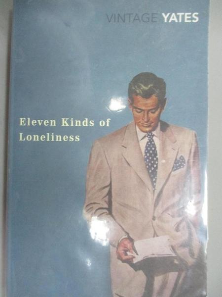 【書寶二手書T7/原文小說_NIF】Eleven Kinds of Loneliness_Richard Yates