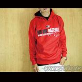 創信MLB Majestic 冬季厚長袖帽T 連帽T 紅襪 紅色 多隊 # 6460101-019 ☆speedkobe☆