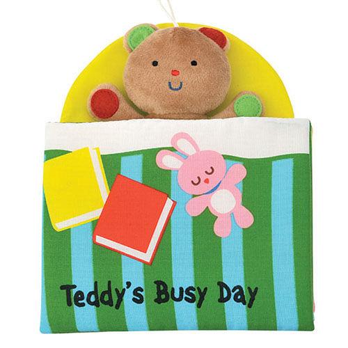 《Read & Play 布書》Teddy's Busy Day 泰迪的一天