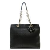 Dior 迪奧 黑色牛皮手提肩背托特包 Cannage Panarea Shopping Tote Bag 【BRAND OFF】