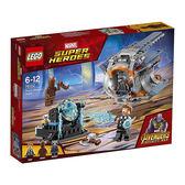 樂高積木LEGO 超級英雄系列 76102 漫威 復仇者聯盟3 雷神索爾的武器任務