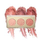 Milani Rose Blush Trio 三色浮雕玫瑰腮紅盤 02 Floral Fantasy 12g