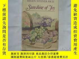二手書博民逛書店Sunshine罕見of JoyY158780