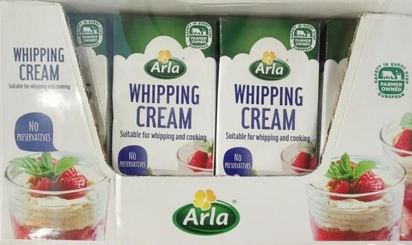 [COSCO代購 需低溫宅配] C54543 鮮奶油 ARLA 36% WHIPPING CREAM 1公升