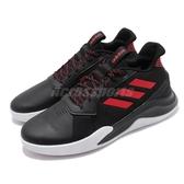 adidas 籃球鞋 RunTheGame 黑 紅 男鞋 運動鞋 【PUMP306】 EF1022