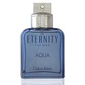 Calvin Klein 永恆之水男淡香水 100ml Tester 包裝 無外盒 瓶身有瑕疵