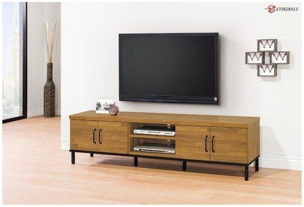 【新北大】S600-1 麥卡倫6尺電視櫃-2019購
