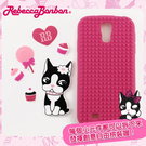 【Rebecca Bonbon】Samsung Galaxy S4 童趣拼圖保護套-甜心桃
