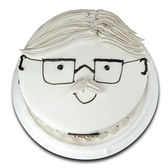 【波呢歐】超帥氣爸爸雙餡鮮奶蛋糕(8吋)