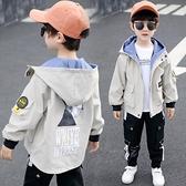 男童秋裝外套2020新款兒童裝中大童風衣韓版春秋季男孩洋氣潮上衣