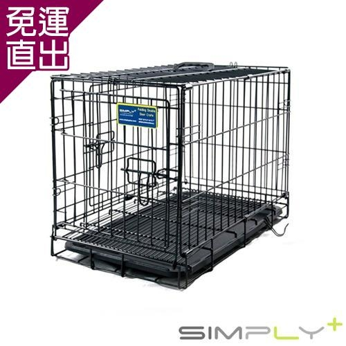 SIMPLY PLUS 烤漆摺疊籠 1.5尺-黑色SP-DMM1-22X 1【免運直出】