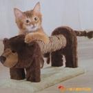 貓抓板立式劍麻仿真動物玩具貓爬架貓咪磨爪【小獅子】