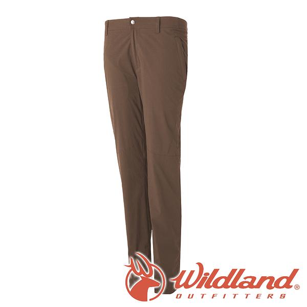 【wildland 荒野】女 彈性防潑水防風保暖長褲『深卡其』 0A52311 戶外 登山 休閒 雙向彈性褲