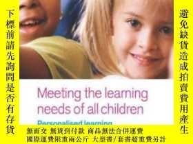 二手書博民逛書店Meeting罕見The Learning Needs Of A