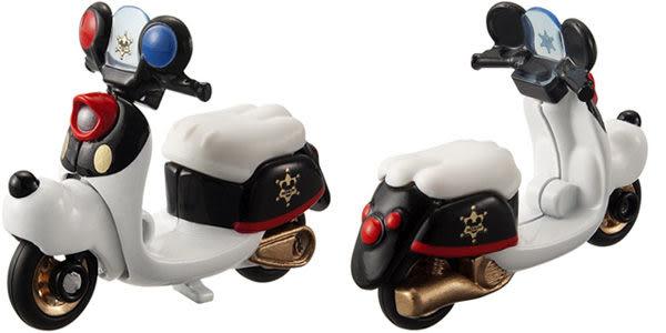 多美迪士尼小汽車 DM-04 夢幻米奇警察摩托車 Disney motors《TAKARA TOMY》
