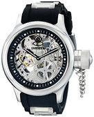 【INVICTA】簍空機械腕錶 - 52mm 銀色
