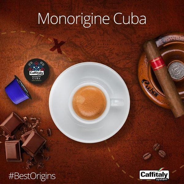 Caffitaly [CUBA 仲夏古巴風情10顆裝] 伯朗咖啡膠囊 燦坤Tiziano 聲寶膠囊咖啡機適用 EZcap