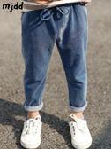 男童牛仔褲春秋新款韓版兒童寬鬆褲子男款休閒褲薄夏童裝長褲