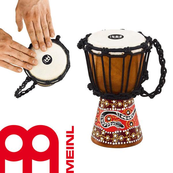 【小叮噹的店】公司貨 德國MEINL HDJ5-XXS 迷你金杯鼓 非洲鼓 蟒蛇圖騰