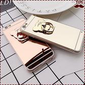 送掛繩 蘋果 IPhoneX IPhone8 Plus IPhone8 鏡面小熊 電鍍 軟殼 鏡面手機殼 鏡面軟殼 電鍍軟殼 支架 指環