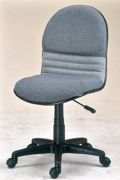 【森可家居】氣壓無扶手轉椅 7JX288-9 電腦椅