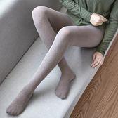 尾牙年貨節2雙連褲襪子女中厚防勾絲襪春秋季薄款條紋外穿加厚打底襪啞光冬第七公社