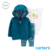 【美國 carter s】 月光森林3件組套裝