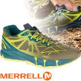 【MERRELL 美國 男款 AGILITY PEAK FLEX 慢跑鞋 〈深橄欖綠〉】ML37709/休閒鞋/慢跑鞋/運動鞋★滿額送