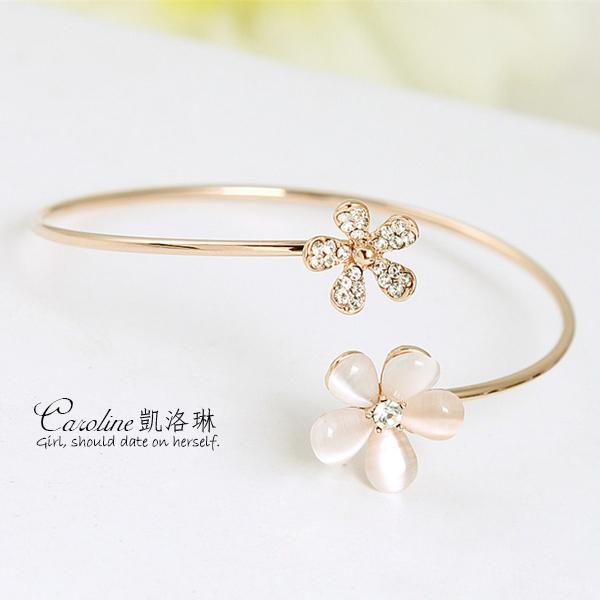 《Caroline》★【美意】典雅設計優雅時尚品味流行時尚手環68446