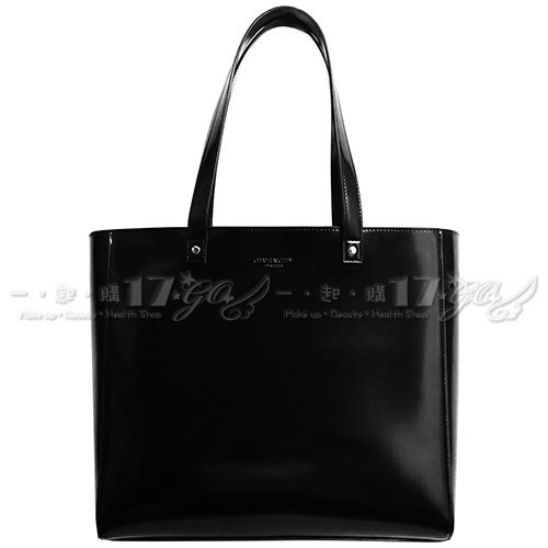 GIVENCHY 紀梵希 PARFUMS 簡約手提購物袋(黑)