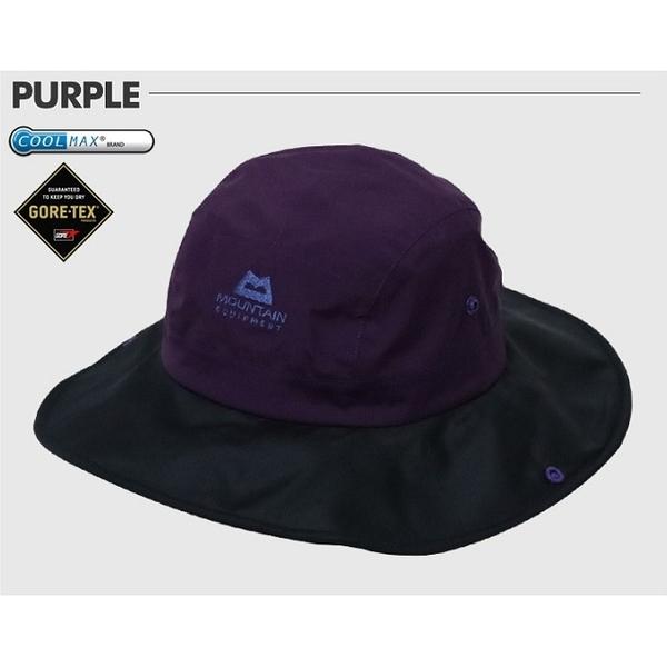 Mountain Equipment 英國 韓版 LF拉法 防水透氣圓盤帽 MEKH0065 暗紫 旅遊 登山 Goretex 大盤帽【易遨遊】