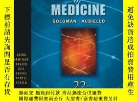 二手書博民逛書店Cecil罕見Textbook Of MedicineY256260 Goldman, Lee  Krevan