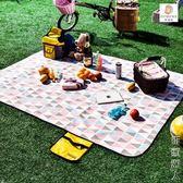 野餐墊防潮墊戶外沙灘帳篷地墊防水牛津草坪墊子野餐布野營 igo街頭潮人