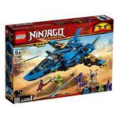樂高積木LEGO NINJAGO忍者系列 70668 阿光的風暴戰士機