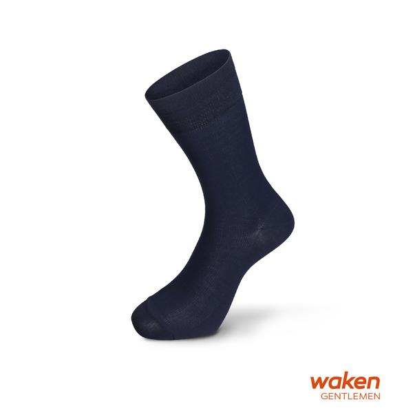 waken  絲光棉經典中筒休閒襪 / 襪子 紳士襪 中筒襪