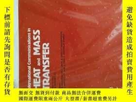 二手書博民逛書店International罕見Communications in Heat and Mass Transfer 2