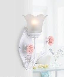 設計師美術精品館床頭燈臥室壁燈現代簡約燈飾創意燈具特價歐式燈田園燈地中海燈具