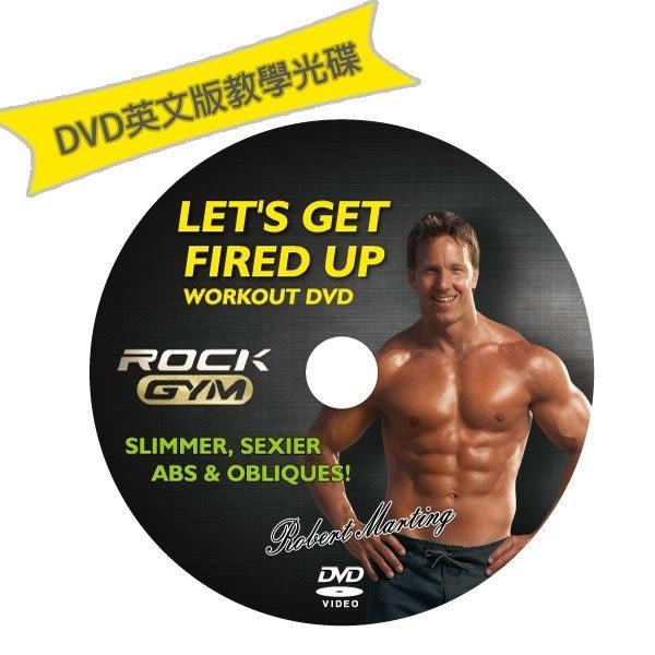 [洛克馬企業] Rock Gym 英文原版DVD教學光碟x1片 另售五分鐘健腹器 爆汗系列商品 8合1搖滾運動機