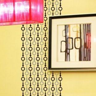 墙貼 玻璃貼 走道橱窗橱柜 幾何- kor20