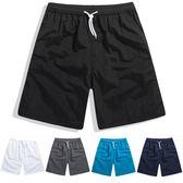 夏季夏天短褲男潮運動休閒五分中褲寬鬆七分大褲衩大碼男士沙灘褲