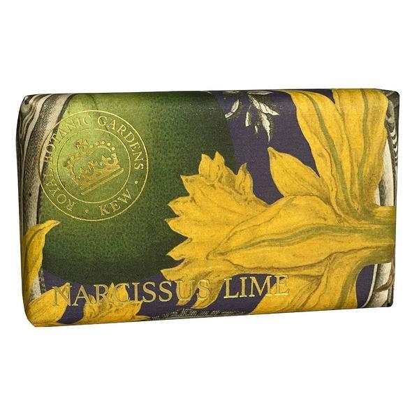 岡山戀香水~Kew Gardens 英國皇家植物園 乳木果油天然香皂 240g (水仙花與青檸) ~優惠價:299元