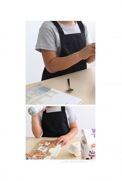 [Mamae] 出口韓國中童(6~9歲) (三色) 兒童工作服 兒童畫畫衣 玩沙衣  園藝H型圍裙