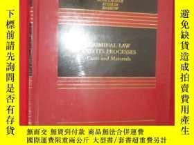 二手書博民逛書店Criminal罕見Law and Its Processes