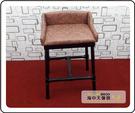 {{ 海中天休閒傢俱廣場 }} F43 摩登時尚 時尚桌椅系列 V-81 凱特高吧餐椅(咖啡色)