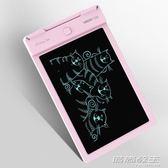 交換禮物 聖誕 可擦13寸液晶手寫板電子lcd兒童畫板辦公學習草稿寶寶寫字板YYP 時尚教主